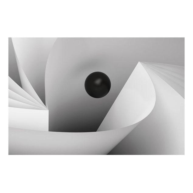 Alu-Dibond Bild - Big Eye