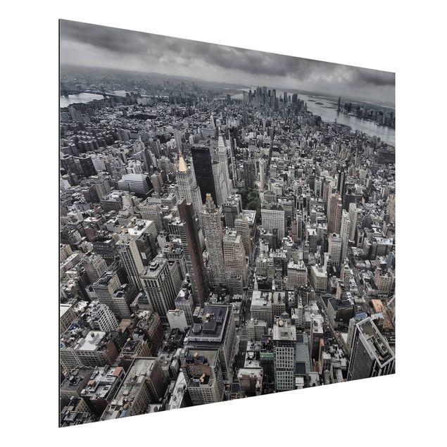 Aluminium Print - Blick über Manhattan - Querformat 3:4