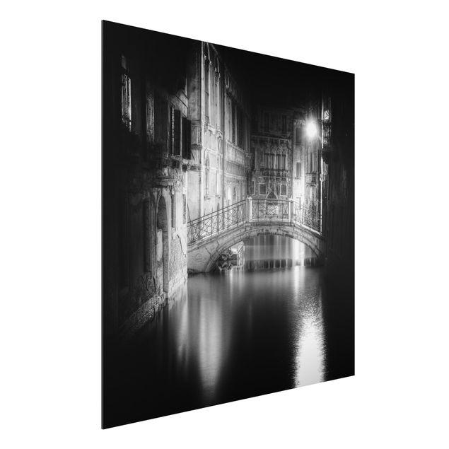 Alu-Dibond Bild - Brücke Venedig