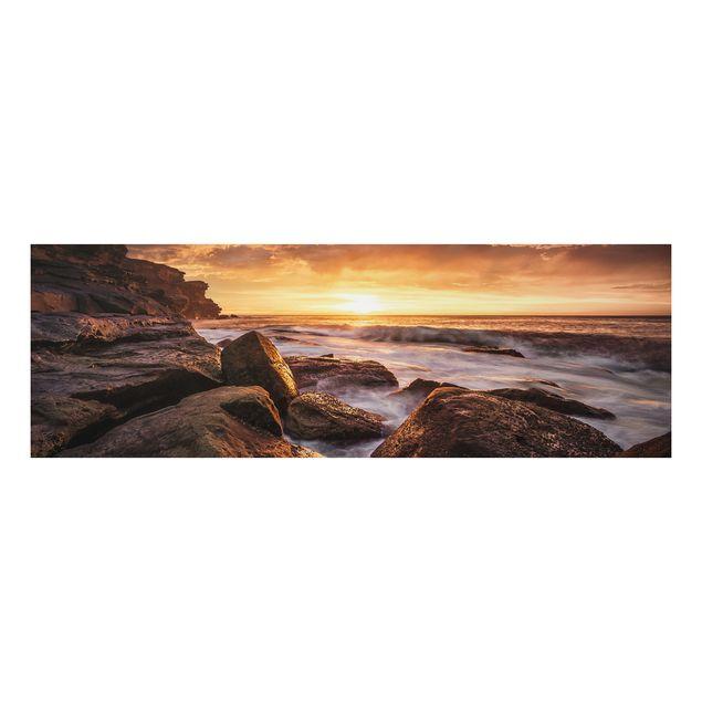 Alu-Dibond Bild - Cape Solander