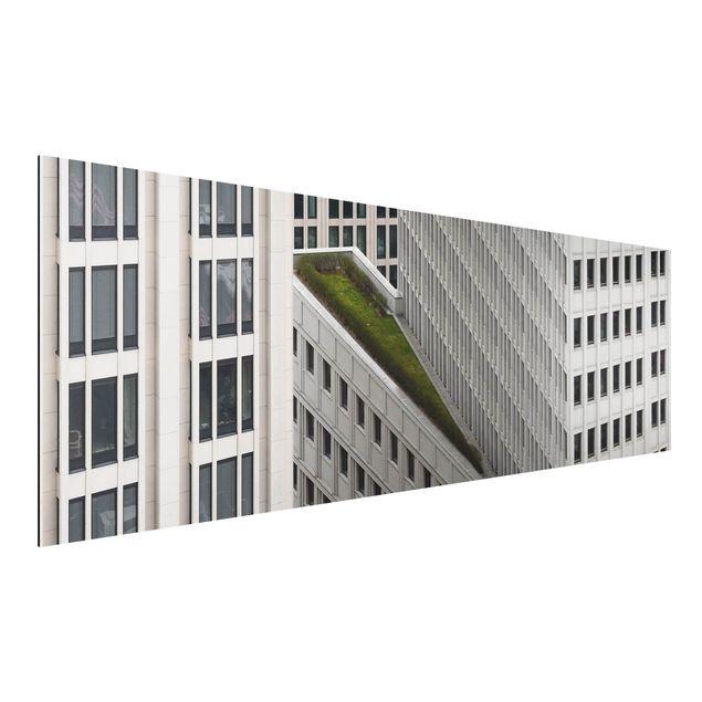 Alu-Dibond Bild - Das grüne Element