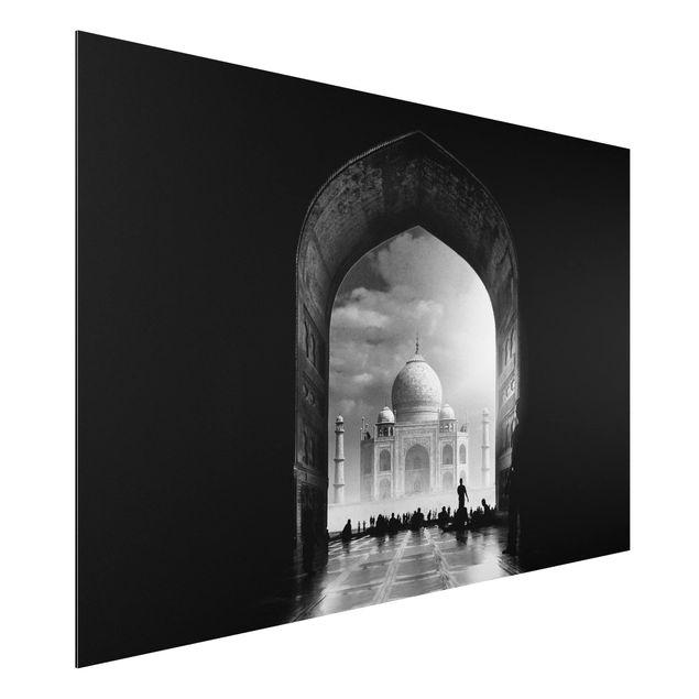 Aluminium Print - Das Tor zum Taj Mahal - Querformat 2:3