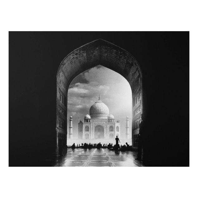 Aluminium Print - Das Tor zum Taj Mahal - Querformat 3:4
