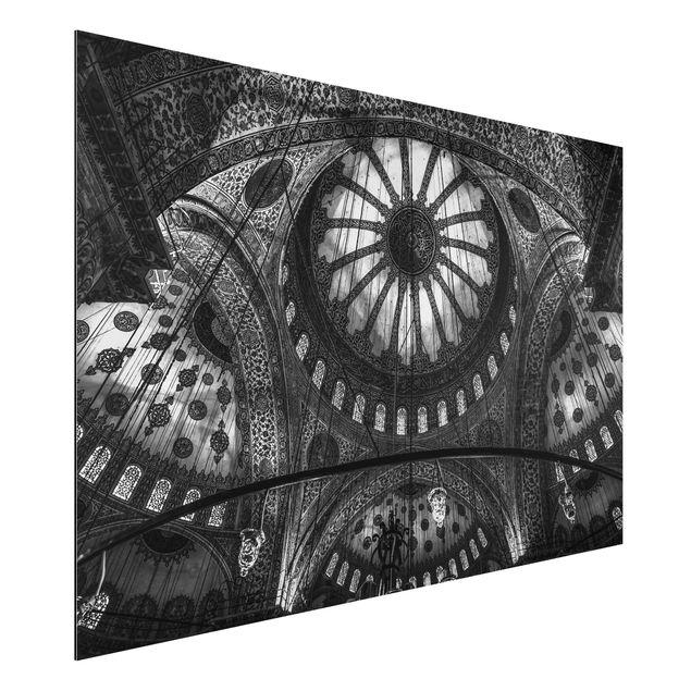 Aluminium Print - Die Kuppeln der blauen Moschee - Querformat 2:3