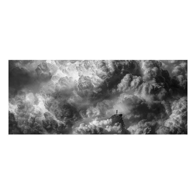 Aluminium Print - Ein Sturm zieht auf - Panorama