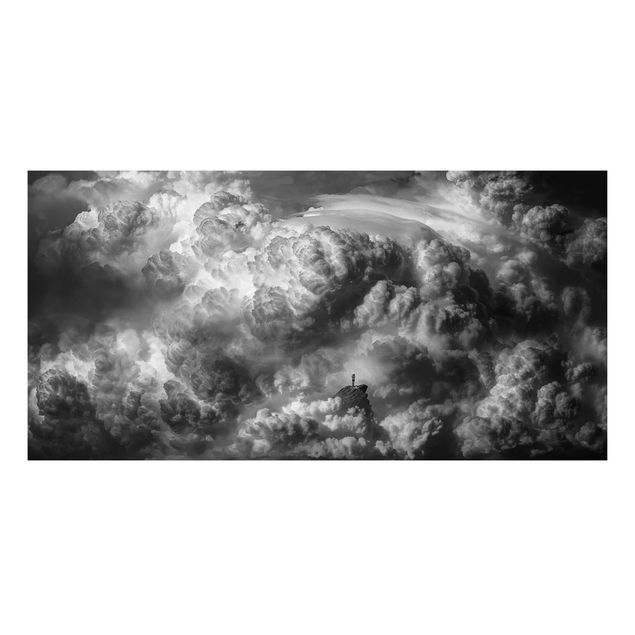 Aluminium Print - Ein Sturm zieht auf - Querformat 1:2