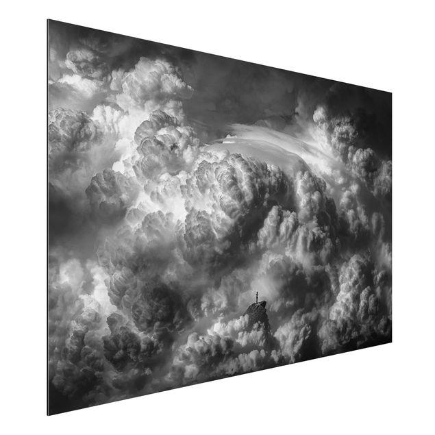 Aluminium Print - Ein Sturm zieht auf - Querformat 2:3