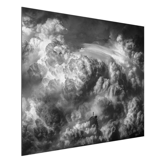 Aluminium Print - Ein Sturm zieht auf - Querformat 3:4
