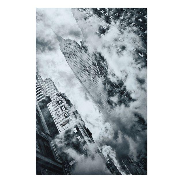 Alu-Dibond Bild - Fassade des Empire State Buildings
