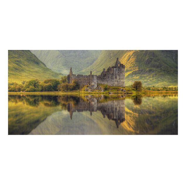 Alu-Dibond Bild - Kilchurn Castle in Schottland