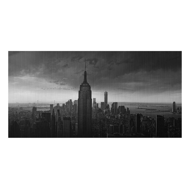 Alu-Dibond Bild - New York Rockefeller View