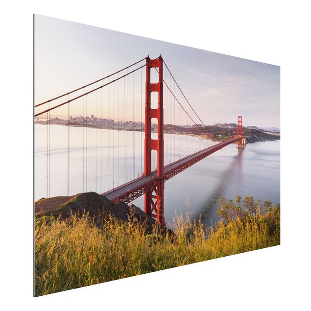 Alu-Dibond Bild - Golden Gate Bridge in San Francisco