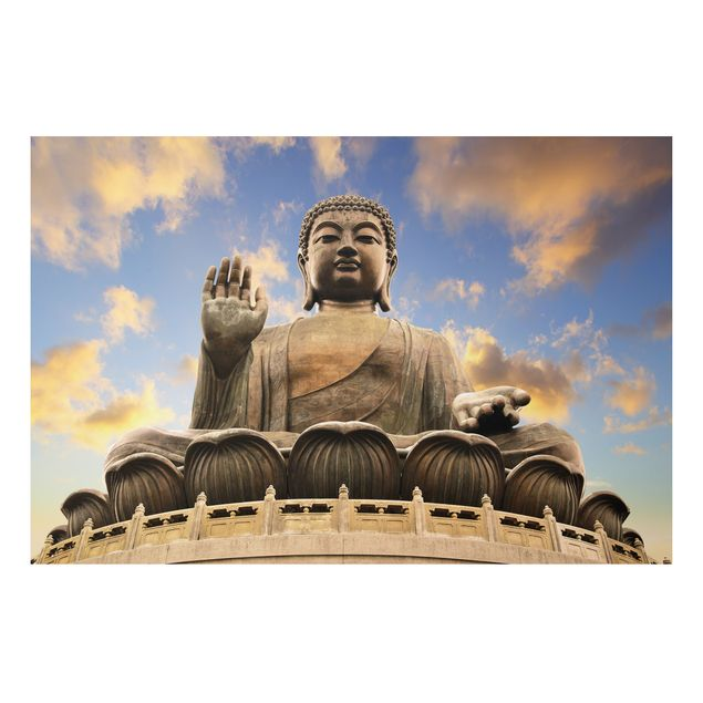 Alu-Dibond Bild - Großer Buddha