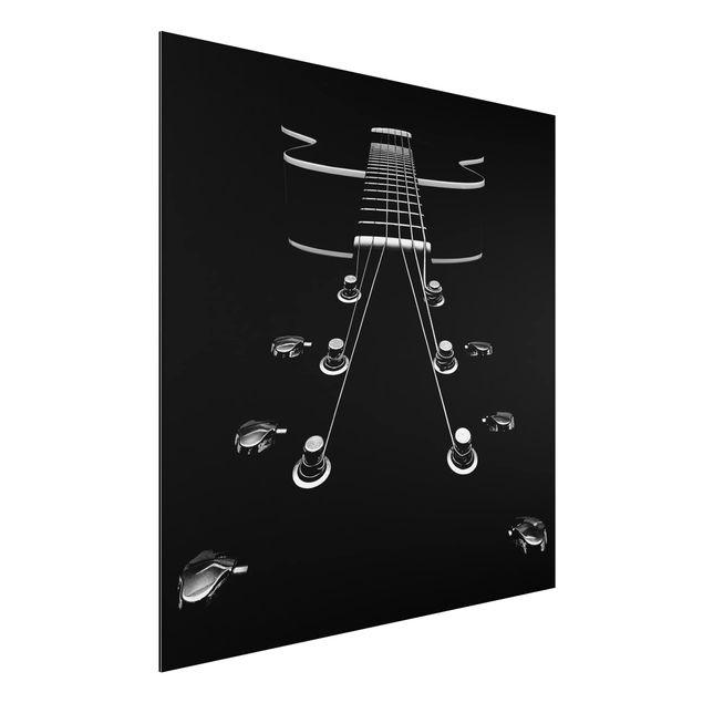Aluminium Print - Mein neues Baby - Quadrat 1:1