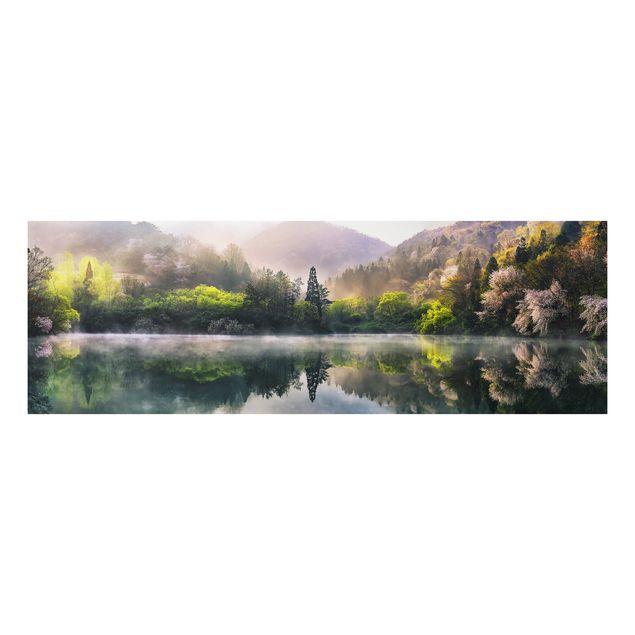 Alu-Dibond Bild - Morgenruhe