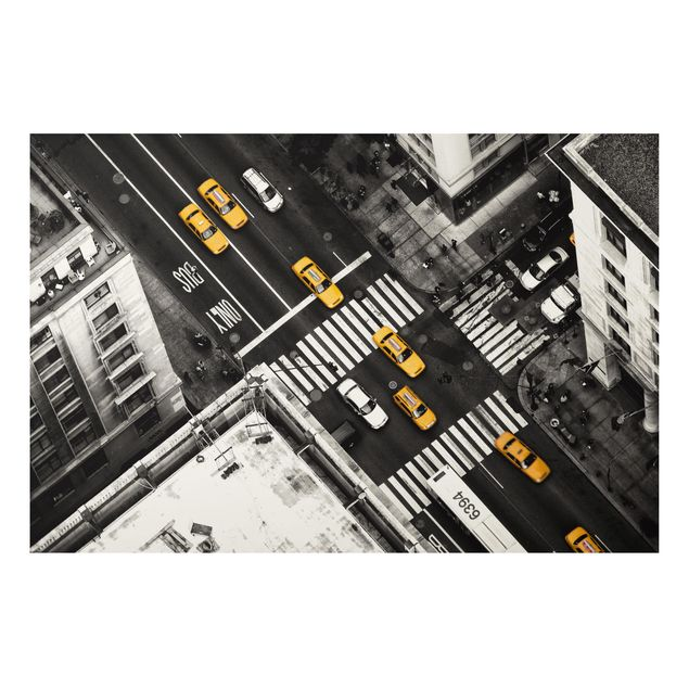 Aluminium Print - New York City Cabs - Querformat 2:3