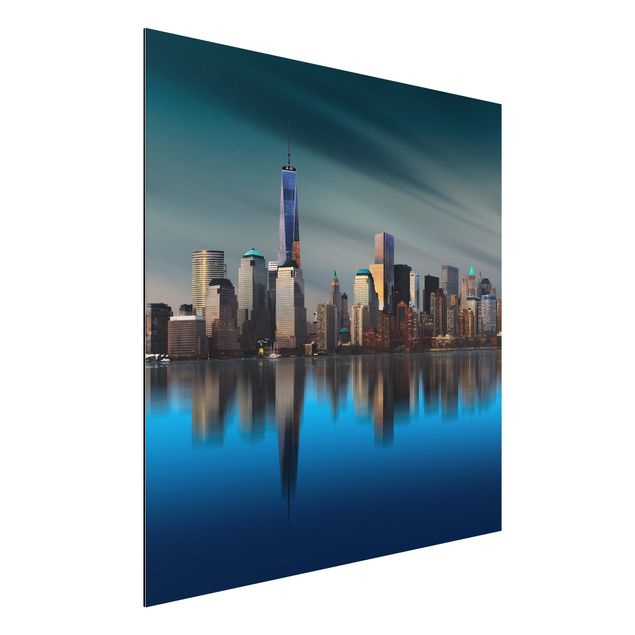 Alu-Dibond Bild - New York World Trade Center