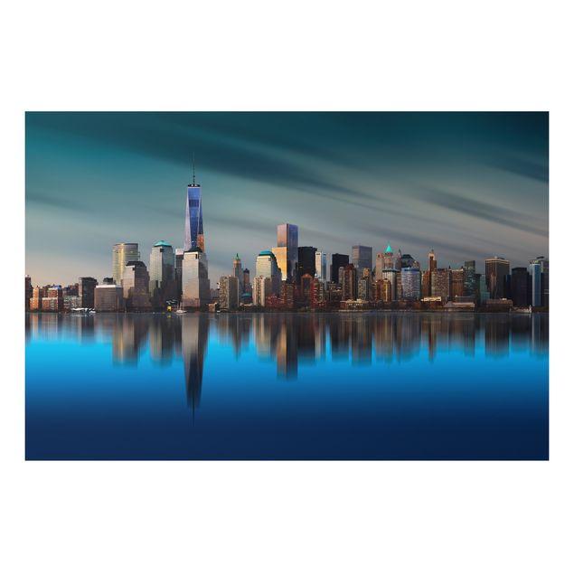 Alu-Dibond Bild - New York World Trade Center