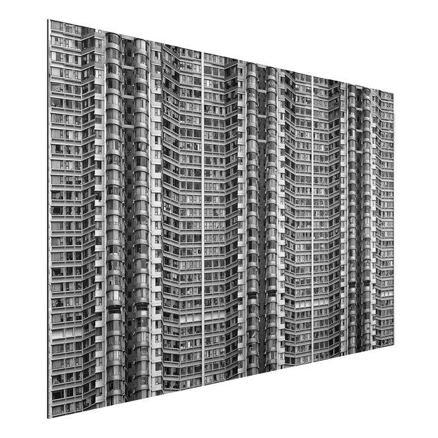 Alu-Dibond Bild - Skyscraper
