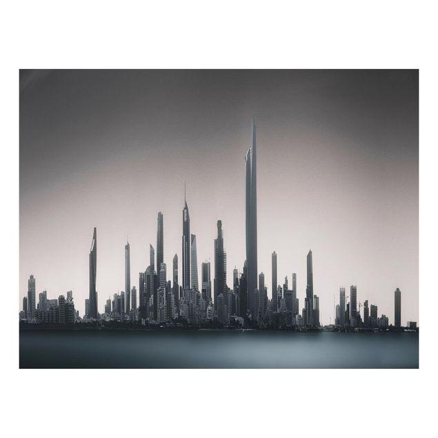 Aluminium Print - Sonnenaufgang Kuwait - Querformat 3:4