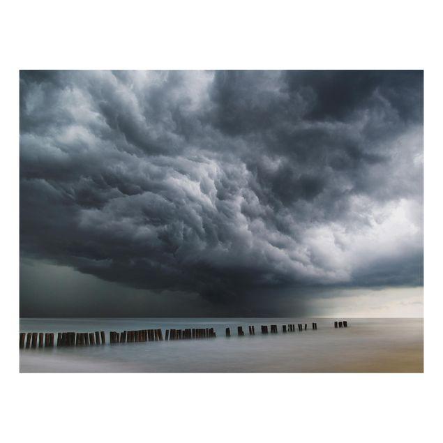 Aluminium Print - Sturmwolken über der Ostsee - Querformat 3:4