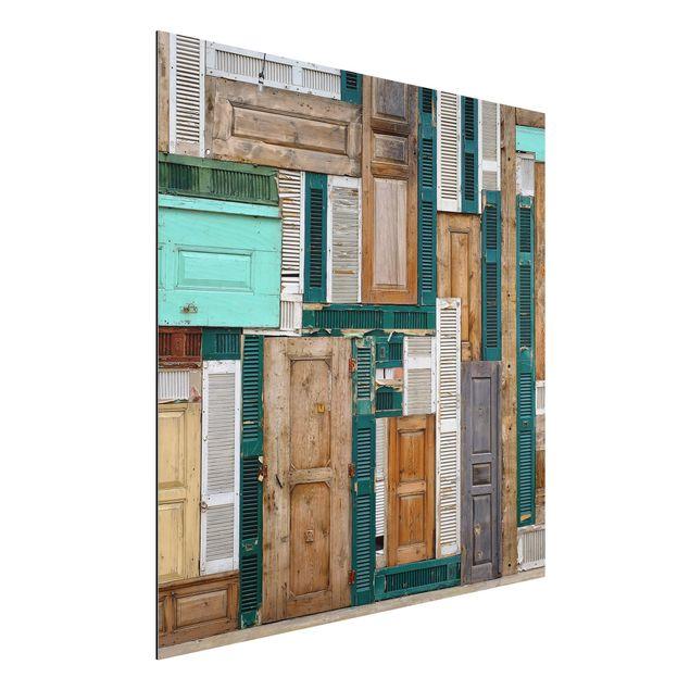 Alu-Dibond Bild - The Doors