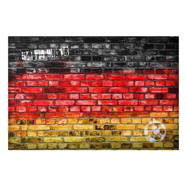 Alu-Dibond Bild - Germany Stonewall