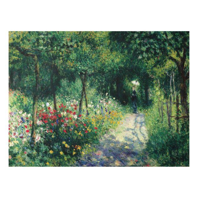 Alu-Dibond Bild - Auguste Renoir - Frauen im Garten