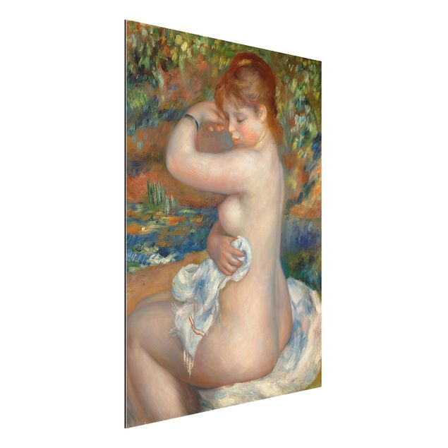 Alu-Dibond Bild - Auguste Renoir - Badende