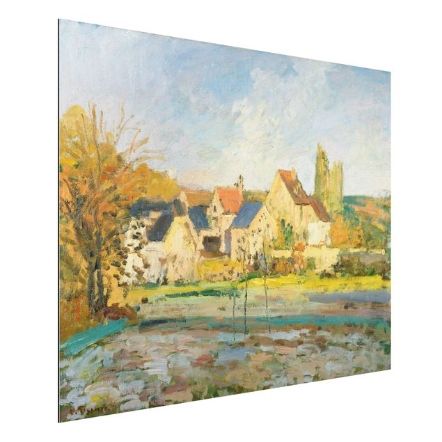 Alu-Dibond Bild - Camille Pissarro - Landschaft bei Pontoise