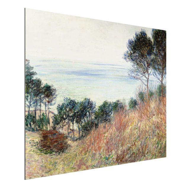 Alu-Dibond Bild - Claude Monet - Die Küste von Varengeville