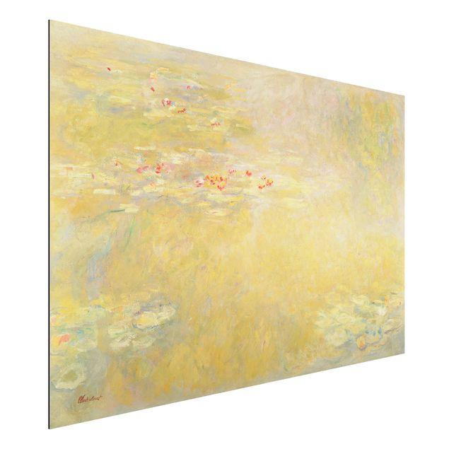 Alu-Dibond Bild - Claude Monet - Der Seerosenteich