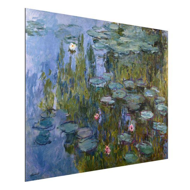Alu-Dibond Bild - Claude Monet - Die Seine bei Petit-Gennevilliers
