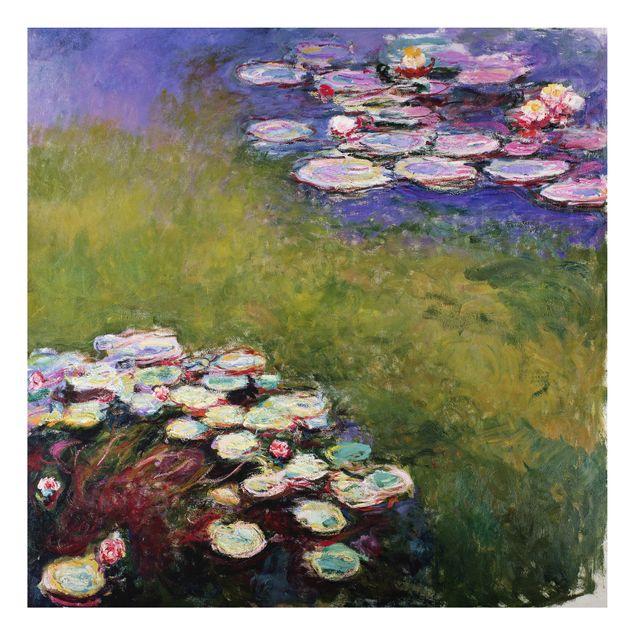 Alu-Dibond Bild - Claude Monet - Die Kirche von Varengeville im Morgenlicht