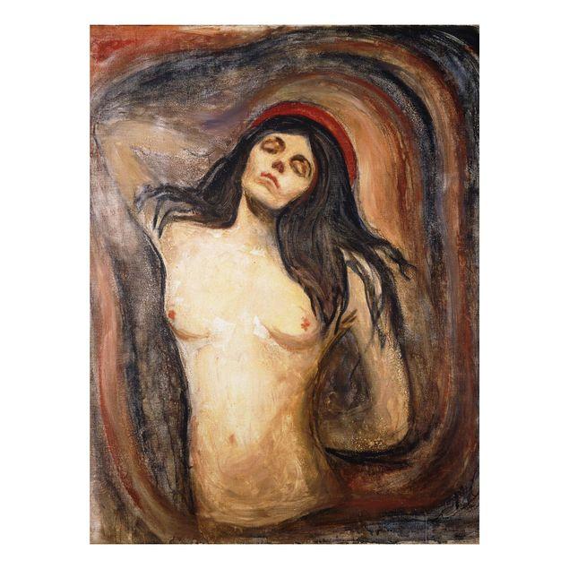 Alu-Dibond Bild - Edvard Munch - Madonna