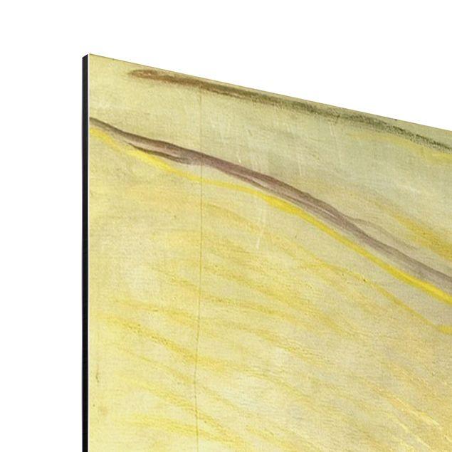 Alu-Dibond Bild - Edvard Munch - Porträt von Friedrich Nietzsche