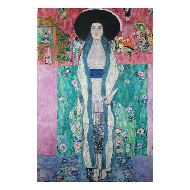 Alu-Dibond Bild - Gustav Klimt - Bildnis Adele Bloch-Bauer II