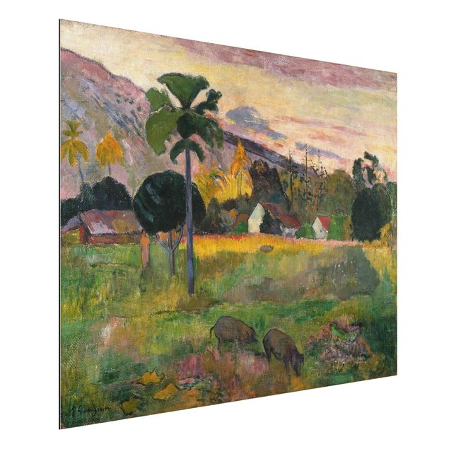 Alu-Dibond Bild - Paul Gauguin - Haere mai (Komm her)