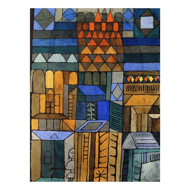 Alu-Dibond Bild - Paul Klee - Beginnende Kühle