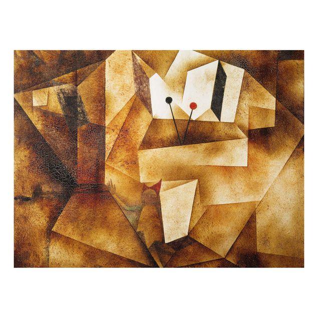 Alu-Dibond Bild - Paul Klee - Paukenorgel