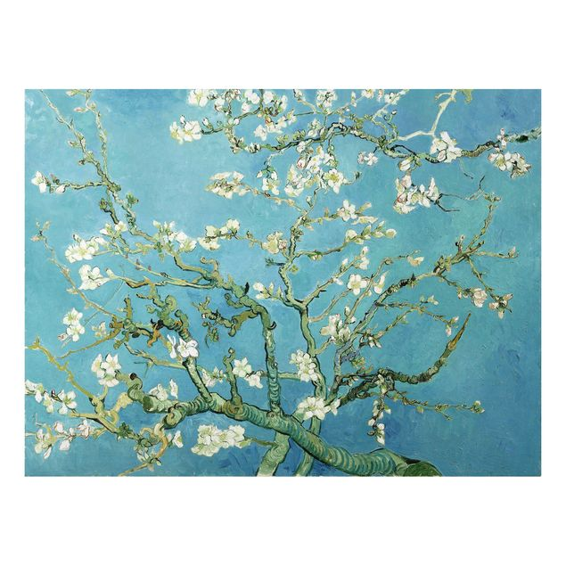 Alu-Dibond Bild - Vincent van Gogh - Mandelblüte