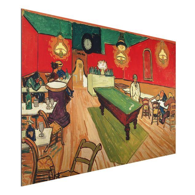 Alu-Dibond Bild - Vincent van Gogh - Das Nachtcafé