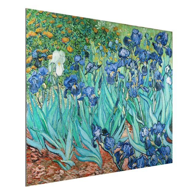 Alu-Dibond Bild - Vincent van Gogh - Iris