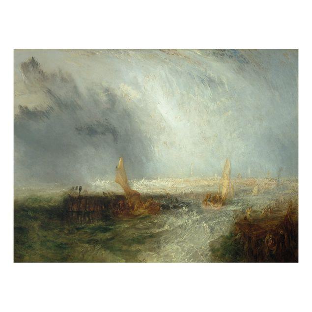 Alu-Dibond Bild - William Turner - Ostende