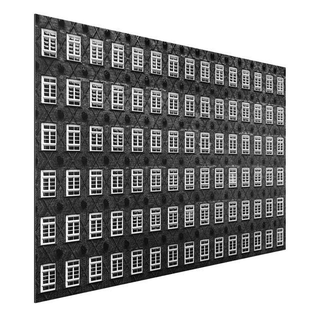 Alu-Dibond Bild - Windows