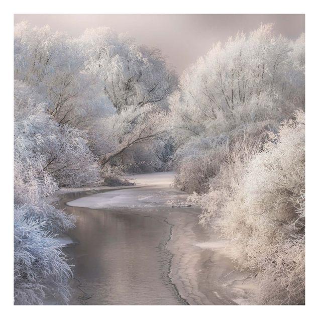 Alu-Dibond Bild - Winter Song