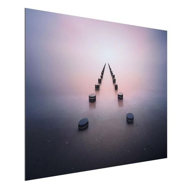 Aluminium Print - Zen am Strand - Querformat 3:4