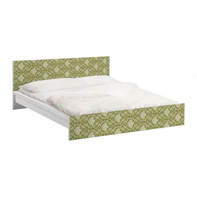 Möbelfolie für IKEA Malm Bett niedrig 180x200cm - Klebefolie The 12 Muses - Polyhymnia