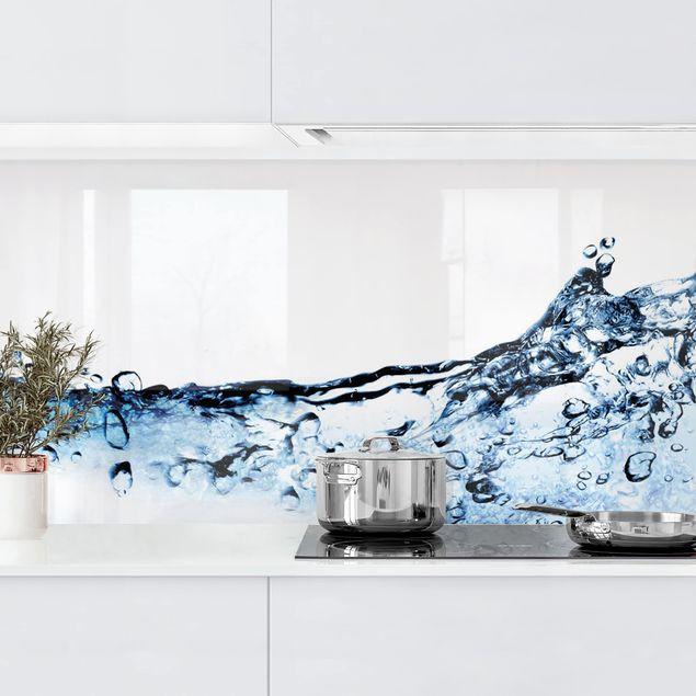 Küchenrückwand - Fizzy Water