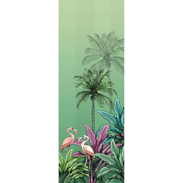 Disney Kindertapete - Jungle Flamingo - Komar Fototapete